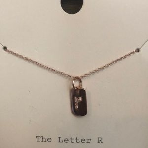 a new day Jewelry - ❤️ A New Day Sterling Silver Letter R necklace ❤️